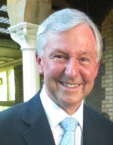 Photo of Mr Linden Hearn, principal at Rossbourne School.