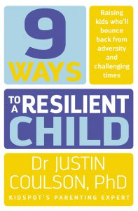 9 Ways to a Resilient Child Book Cover