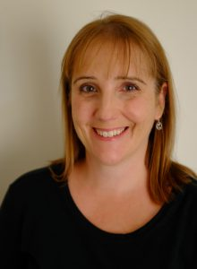 Head shot of author Amanda Dunn