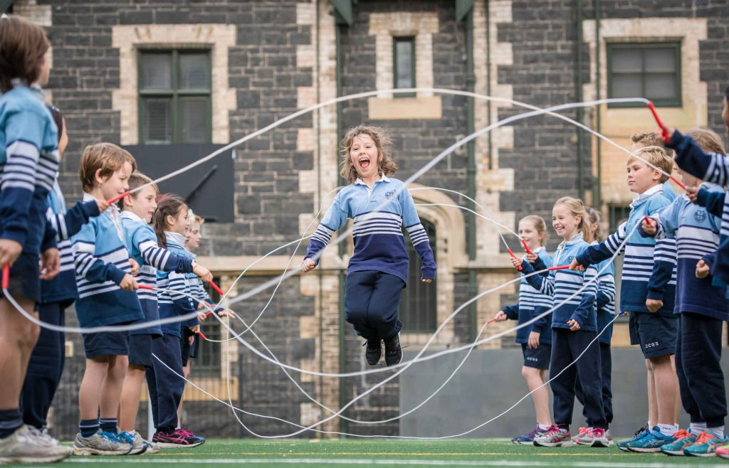 Christ Church Grammar School Jump Rope for Heart