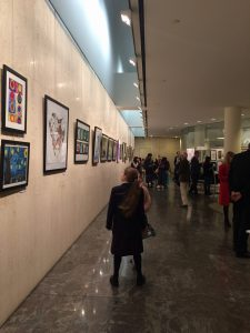 Celebrating the Arts: the opening of tISV's Annual Student Art Exhibition