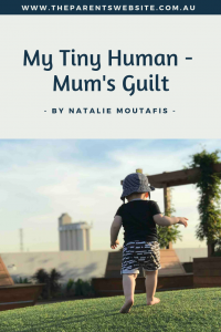 Mum's guilt | Image of a little boy running