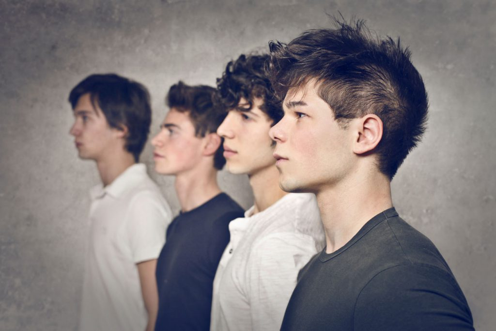 The Parents' Website | Image of a group of boys looking off into the distance