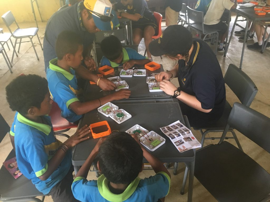Shining a Light on Energy Poverty: Building lights with students in East Timor