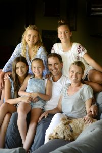 The Parents' Website | Image of cricketer Justin Langer and his family