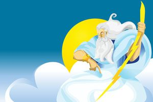 The Parents' Website | Illustration of Greek god Zeus
