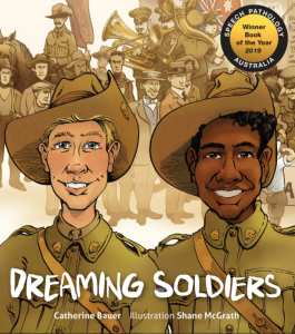 Children's Book Awards: Dreaming Soldiers cover