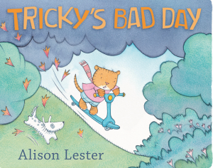 Children's Book Awards: Tricky's Bad Day cover